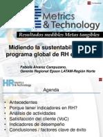 Midiendo La Sustentabilidad de Rh