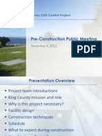 Murray CSO project pre-construction presentation