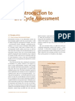 life cycle assessment chapter
