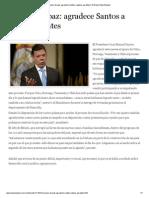 Proceso de paz_ agradece Santos a países garantes _ El Nuevo Siglo Bogota