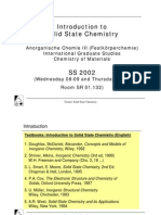 Solid State Chemistry PDF