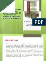 Proyecto Comportamiento Sismico en La Ciudad de Tacna