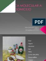 Genetica Molecular a Domicilio