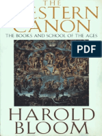 BLOOM, Harold -The Western Canon
