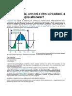 Cronobiologia e Ritmi circadiani