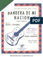Ruben Moreyra Bandera de Mi Nacion