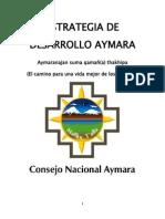 Estrategia Del Desarrollo Aymara
