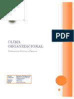 Trabajo 1 - Clima Organizacional - Oscar Leiva