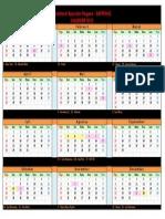 Kalender 2013 Indonesia Terbaru