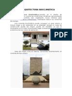 Laarquitectura bioclimática