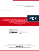 ESTUDIO COMPARATIVO DE LA COMPOSICIÓN Y ACTIVIDAD BIOLÓGICA DE LOS