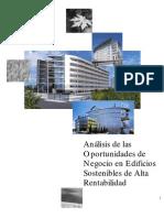 Razones Negocio Edificios Sostenibles Alta Rentabilidad