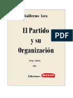 Partido y su organización