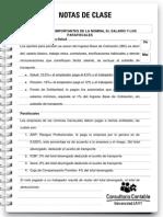 Nota de Clase 72 Aspectos Sobre Salario, Nomina y Parafiscales