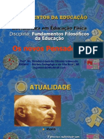Fundamentos da Educação.