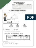 Guia Nº 08 - Fórmula General de Conversión
