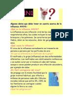 Influenza AH1N1 3