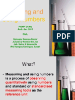 6_MEASURING & USING NUMBERS.ppt