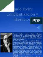 Paulo Freire Concientización y liberación