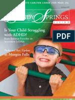 Brain Balance ADHD Article Sandy Springs Living 07 15 2009