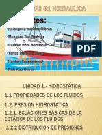 Exposicion Hidraulica Unidad 1