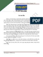 Hướng dẫn thiết kế mạch bằng Altium 10