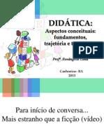 1- DIDÁTICA - TRAJETÓRIA E TENDÊNCIAS(MODIFICADO)