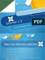 Joomla! 1.5 - Tag 2