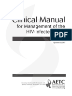 Clinical Manual for HIV +Ve Adults