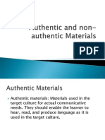 W14 Authentic and non-authentic Materials.ppt