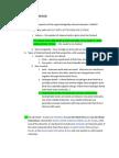 Cellular/molecular Biology Review