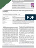 In Vitro Evaluation of Osteoconductivity and Cellular Response of Zirconia and Alumina Based Ceramics
