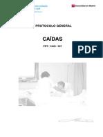 Fall Protocolo Caídas Salud Madrid