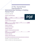 21 CFR Part 110 - Food Industry.doc