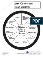 children living in violent homes wheel