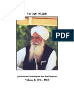 The Light Of Ajaib, By Sant Ji (Ajaib Singh)