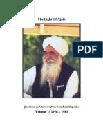 The Light Of Ajaib, By Sant Ji (Ajaib Singh)