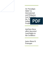 "On ""Paradigm Shifts"" in International  and Philippine Law Regarding the Treatment of Indigenous Peoples.pdf"