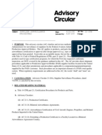 AC 21-20B - Supplier Surveillance Procedures