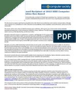 Kemal Ebcioglu Named Recipient of 2013 IEEE Computer Society B. Ramakrishna Rau Award