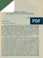 Federico Nietzsche Las Grandes Etapas de Su Pensamiento