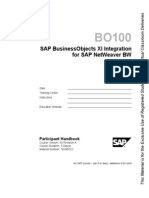BO100 - Integration for SAP BW.pdf