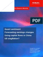 Global Quantitative Research Monthly