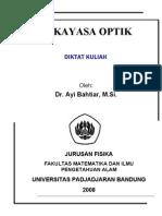 Diktat Kuliah Rekayasa Optik