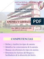 Anemia Gestación