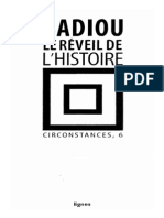 Badiou Alain Le Reveil de l Histoire