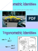 Trigonometric Proving Identities - Jewen John v. Sumague