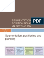 5 Segmentation  Positioning 2013.ppt
