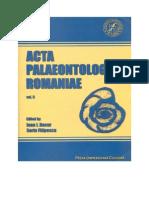 ACTA PALAEONTOLOGICA ROMANIAE, Vol II