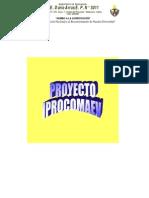 Proyecto IPROCOMEV Septiembre 2013 Modificado